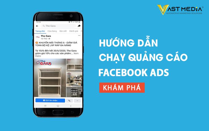hướng dẫn chạy quảng cáo facebook ads