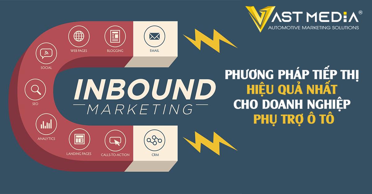 Inbound marketing là phương pháp marketing hiệu quả nhất cho doanh nghiệp ô tô