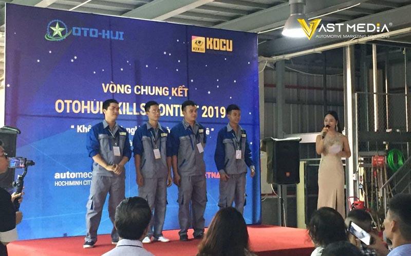 Vast Media tổ chức thành công hội thi tay nghề ô tô