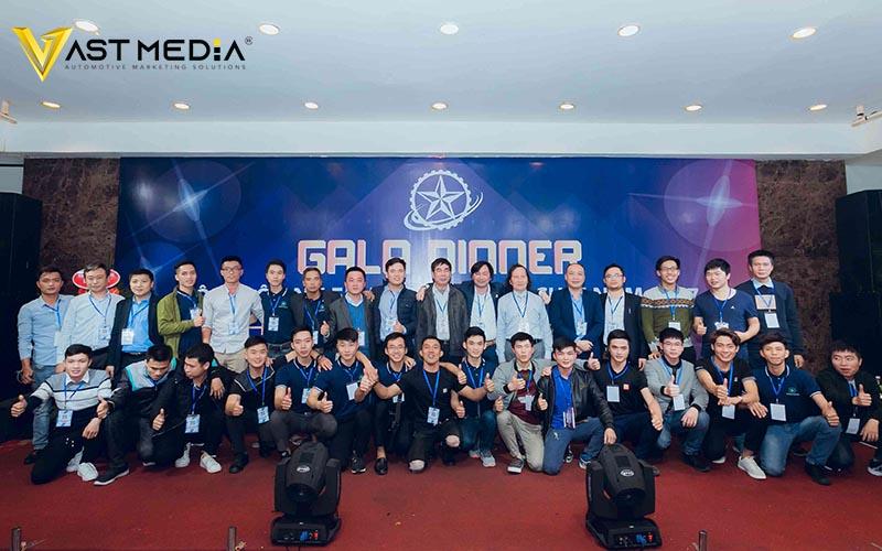 Vast Media tổ chức thành công sự kiện Gala Dinner
