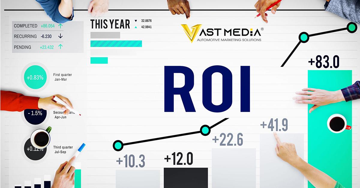 Chỉ số marketing ROI lợi tức đầu tư