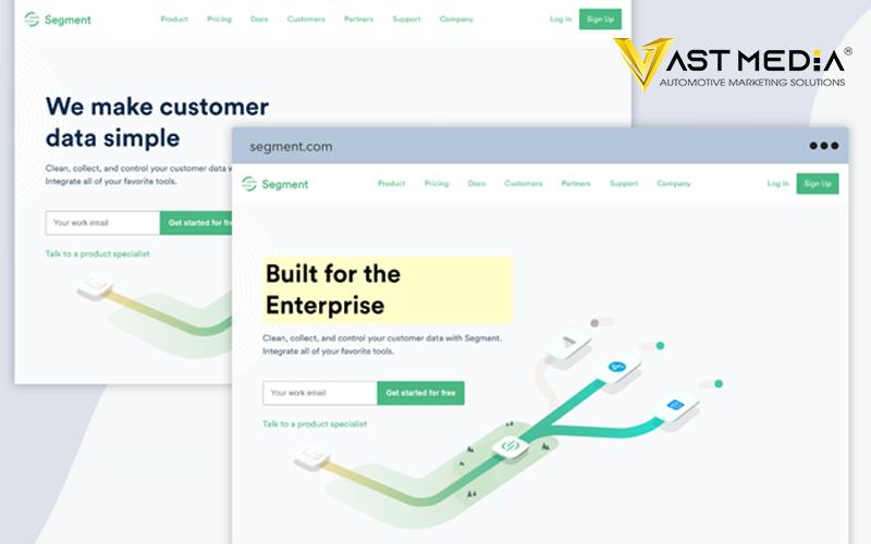 Chiến lược Marketing B2B 2021 sử dụng Website bằng cách cá nhân hóa Website
